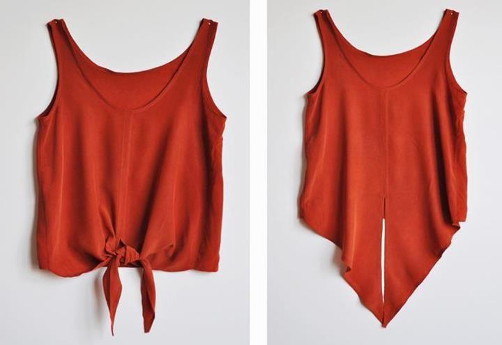 Sabe aquela blusa que você não usa mais? Então, tenho uma ótima idéia pra você voltar á usa-la!    A dica é: Cortar a blusa dessa mesma fo...