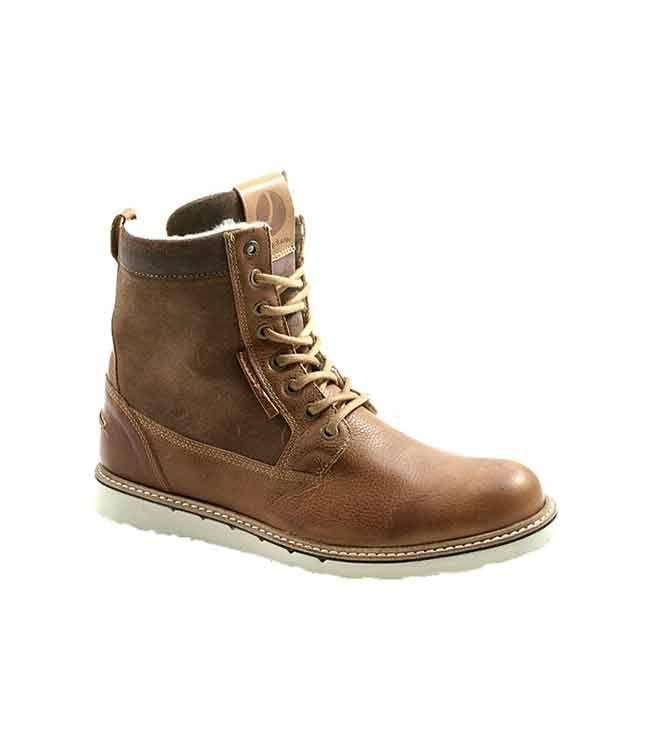 Herenmode, Bjorn Borg hoge boots in robuuste stijl, in een leer en suède mix, gevoerd met imitatie bont. MEER  http://www.pops-fashion.com/?p=31802
