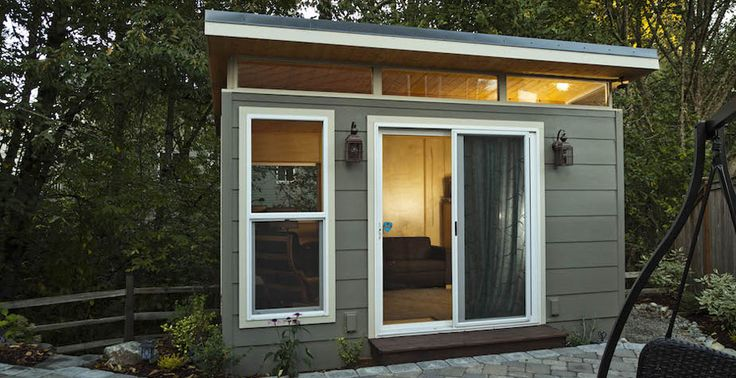 23 Best Modern Shed Images On Pinterest Backyard Studio