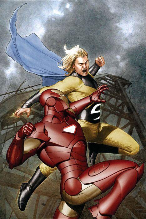 Iron Man vs The Sentry
