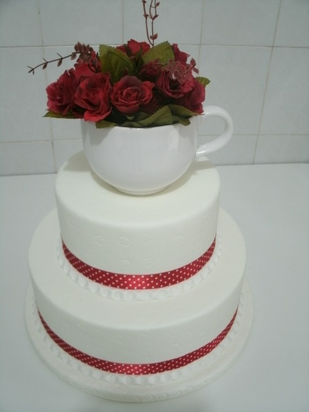 Bolo para chá de cozinha.: Chá De, Bolus, Tea, Cooking, Bridal Shower Bachalorette, Father De