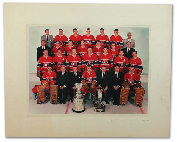 1960 Stanley Cup Champions - Montreal Canadiens