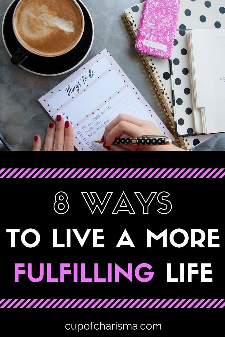 8 Most Efficient Ways to Live a More Fulfilling Life - Don't have enough time to make your dreams happen, spend time with your loved ones or contribute your time to a cause? These productivity tips are for you. http://cupofcharisma.com/2015/10/8-most-efficient-ways-to-live-a-more-fulfilling-life-2/?utm_campaign=coschedule&utm_source=pinterest&utm_medium=Jillian%20-%20Cup%20of%20Charisma&utm_content=8%20Most%20Efficient%20Ways%20to%20Live%20a%20More%20Fulfilling%20Life