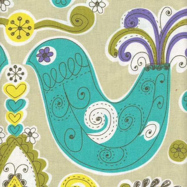 Distinctive Sewing Supplies - Japanese Cotton/Linen Printed Canvas - Daisy Chain Large Birds, $19.99 (http://www.distinctivesewing.com/japanese-cotton-linen-printed-canvas-daisy-chain-large-birds/)