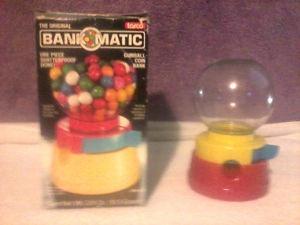 Bank-O-Matic gum ball machine