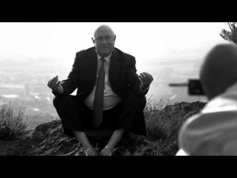 FW de Klerk remembers the day in parliament he put South Africa on a new course and reveals what gave him the courage to do so. Shot at his home and with footage from his portrait photo shoot with Adrian Steirn in the Franschhoek Pass in the Western Cape, it portrays a side of De Klerk not seen before.