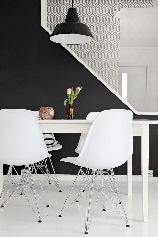 51 best images about interno in nero e grigio on pinterest | grey ... - Wohnideen Leben Moderne