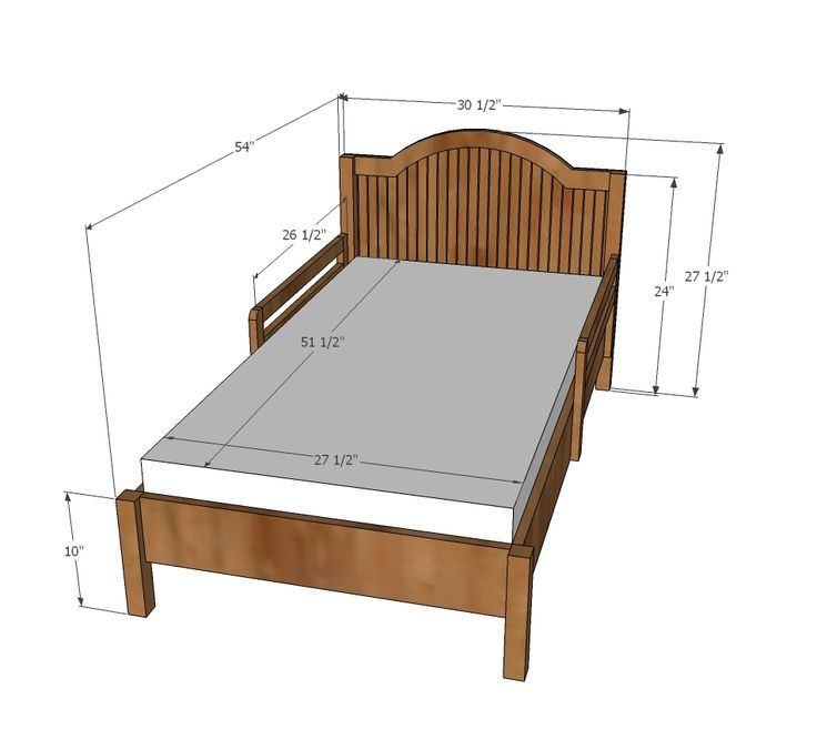 Size Of A Toddler Bed Mattress