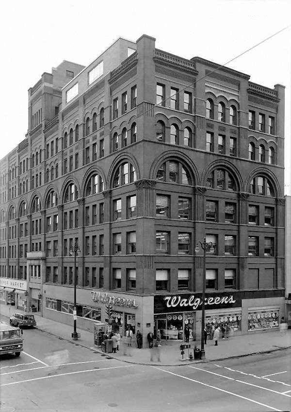 Kirk Fireproof Building (demolished) Formerly Located At The Corner Of West  Fayette And South Salina, Syracuse, NY. Photo From The Historic American ...