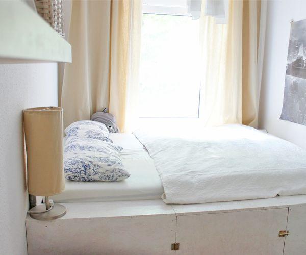 diy plateaubett mein raumwunder diy wohnen dekoration dekoration wohnen und stauraum. Black Bedroom Furniture Sets. Home Design Ideas