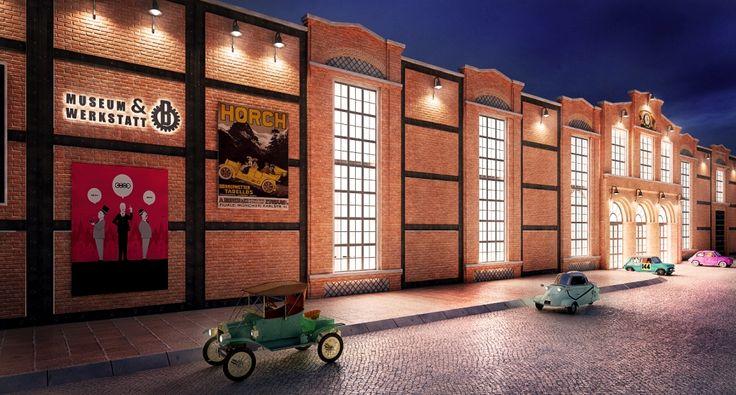 """WERKSTATT AUTO MUSEUM"" by NOVELTY AE"