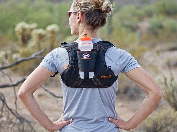 This running hydration pack, discovered by The Grommet, leaves arms completely free for that extra push when running.