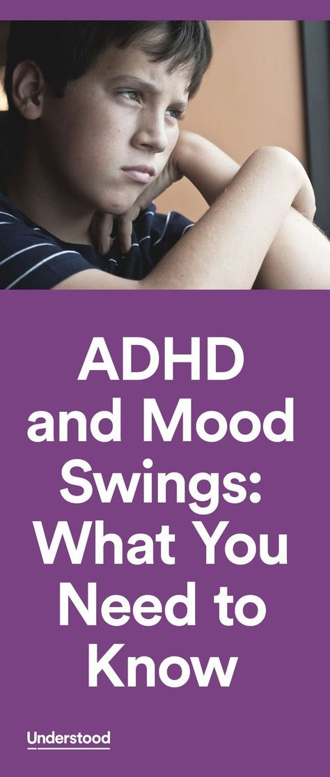 Kids with ADHD often struggle with managing their emotions. For some, that can mean mood swings that leave their parents, teachers and friends wondering what caused such a swift change in attitude and behavior.