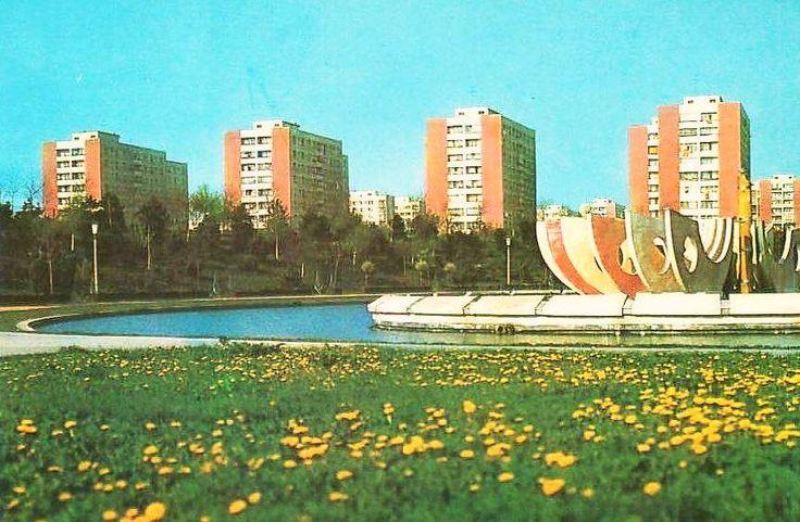 Parcul Moghioros, Bucharest, 1970s - via Turism de Altadata