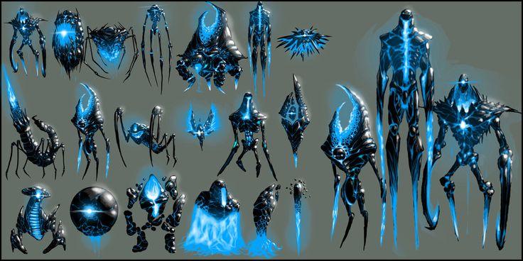 Character Design Zach : Ideas about alien concept art on pinterest