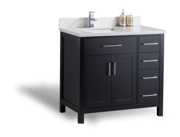 Les 25 meilleures id es de la cat gorie lavabo vanit sur for Home depot meuble salle de bain