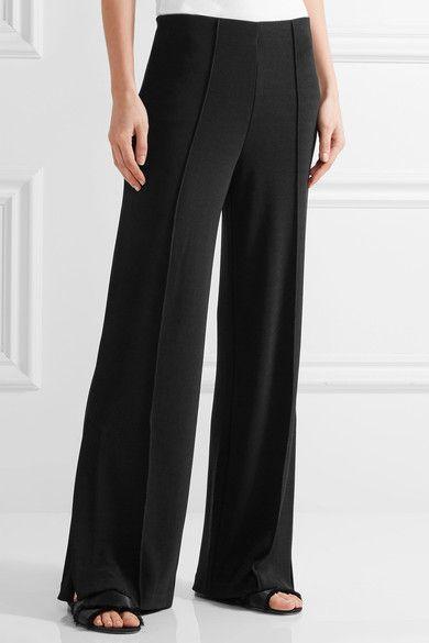 By Malene Birger - Mulanas Stretch-knit Pants - Black - small