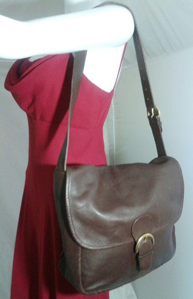 Vintage Coach Large Messenger Bag Shoulder Bag Carry All #4165  #Coach #Messenger