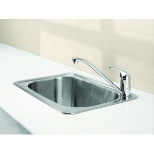 Clark Flushline Laundry Tub 30lt To inset to a simple cabinet