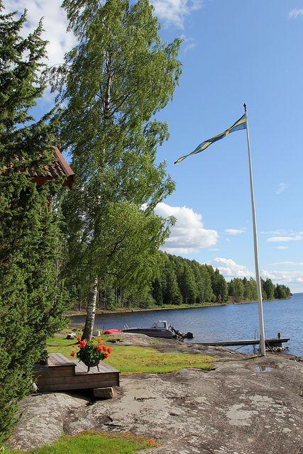 Sverige (Värmland): by daybreak, open your door/window and just...enjoy!