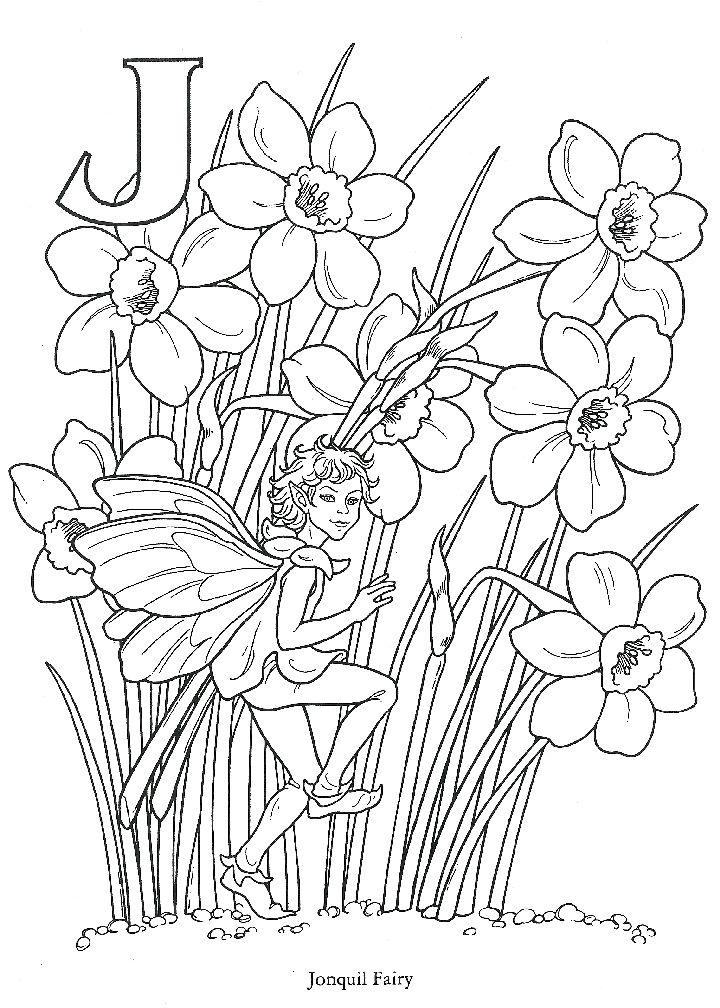 fairy coloring pages pinterest - photo#38