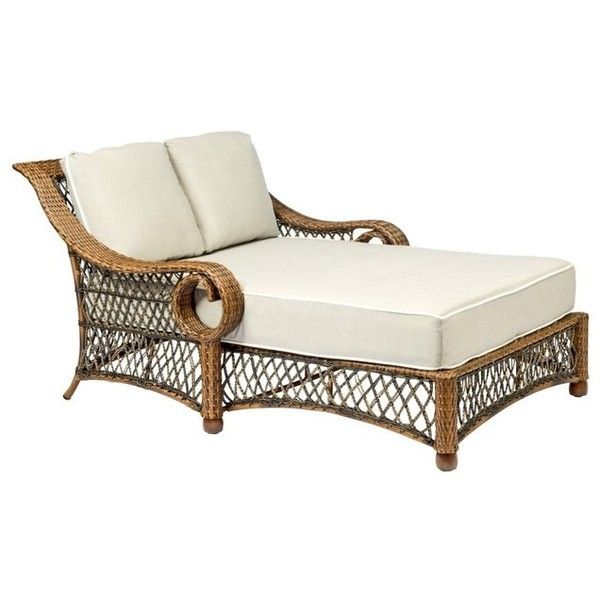 traditional outdoor chaise lounges liked on polyvore