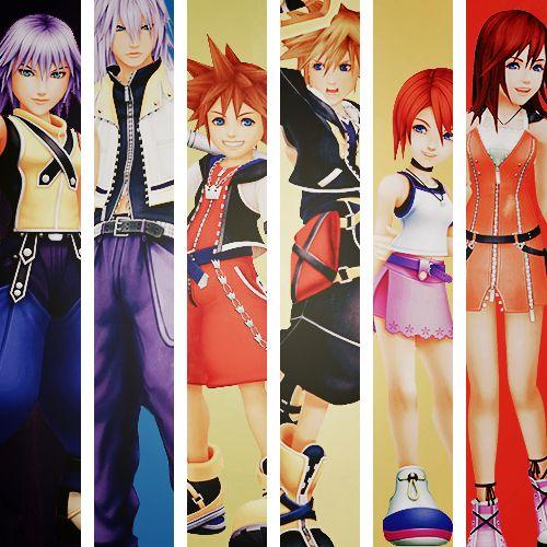 Kingdom Hearts 1 and Kingdom Hearts 2 comparison