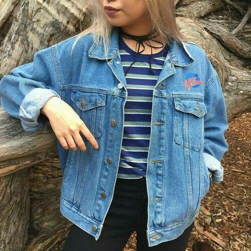 27 best denim aesthetic images on Pinterest | My style Feminine fashion and Jean jackets