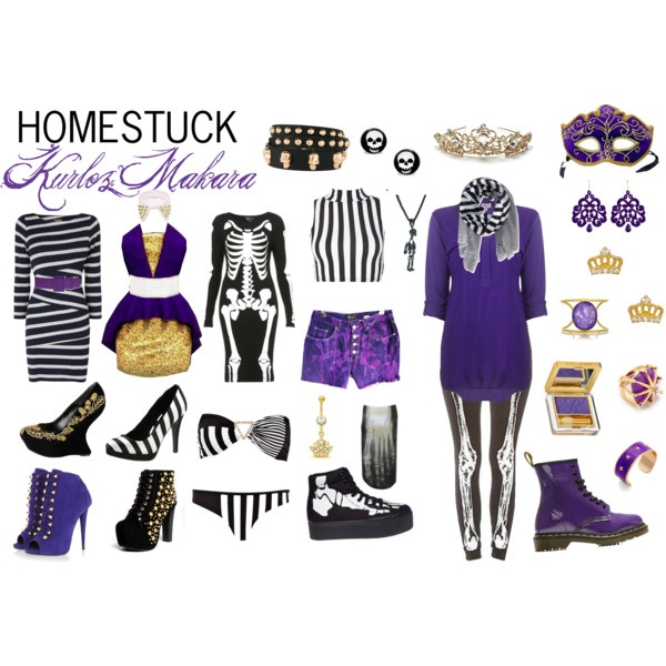Homestuck Fashion: Kurloz Makara by khainsaw on Polyvore