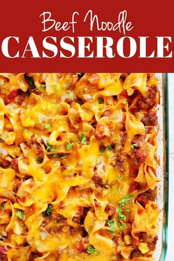 Beef Noodle Casserole Beef Noodle Casserole Noodle Casserole Recipes Beef And Noodles
