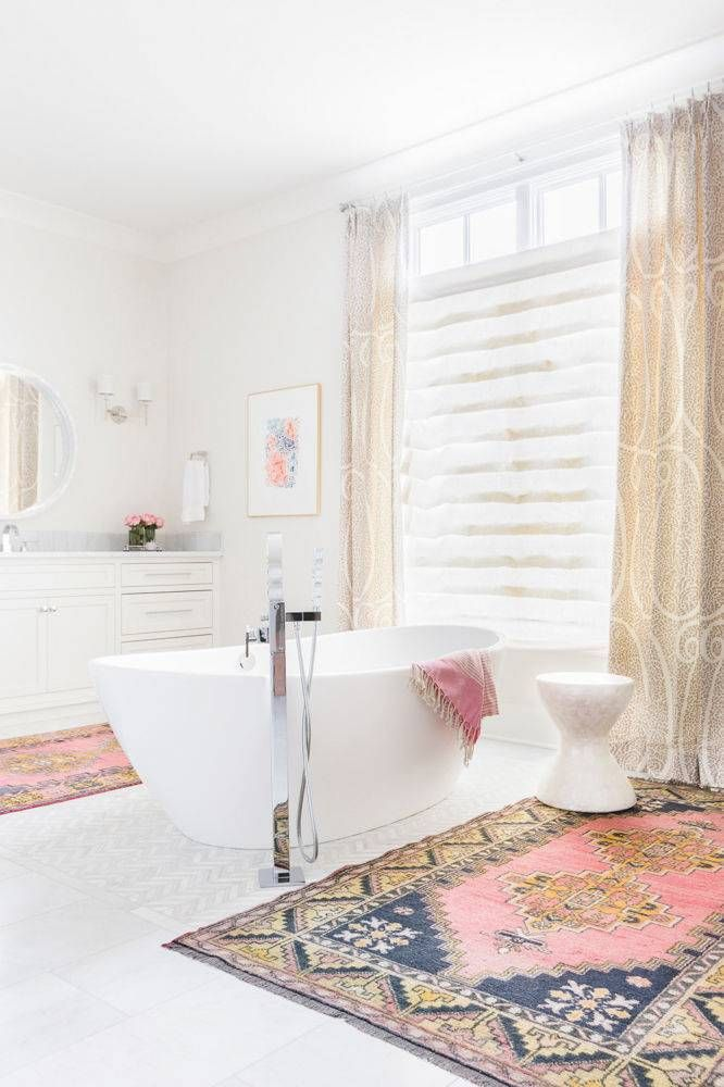Elegant 10 Interesting And Fun Bathroom Area Rugs  Rilane