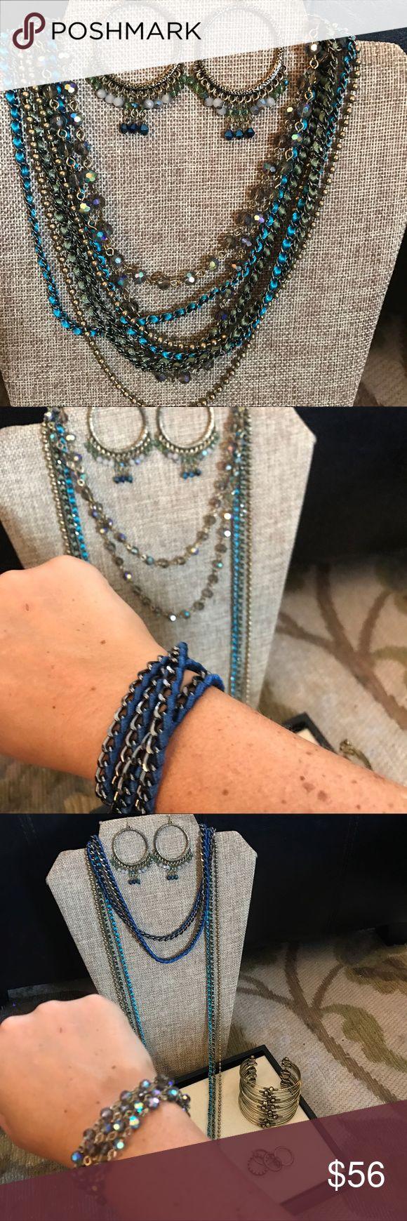 2 Of Set 💥 Cape Cod Necklace & Earring Set Boutique