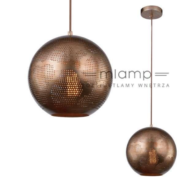 LAMPA wisząca SFINKS 31-43276 Candellux orientalna OPRAWA metalowa marokański ZWIS ażurowy IP20 kula jasnobrązowa #lampawiszaca #szklanelampy #wystrojwnetrz #nowoczesneoswietlenie #pokojdzienny #salon #modernlighting #modernstyle #crystal #interior #interiorlighting #interiordesign #homedesign #homedecor #rozswietlamywnetrza #mlamp