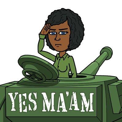 Yes Ma'am | Cartoon art, Funny greetings, Anime fanart