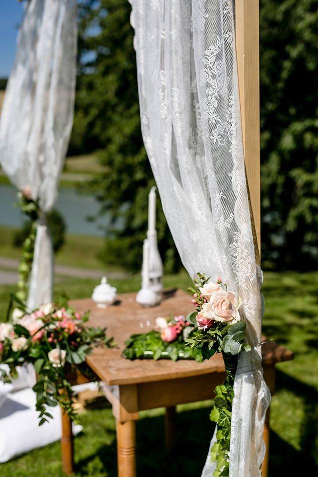 Wedding Ceremonial Table, Wedding Arch