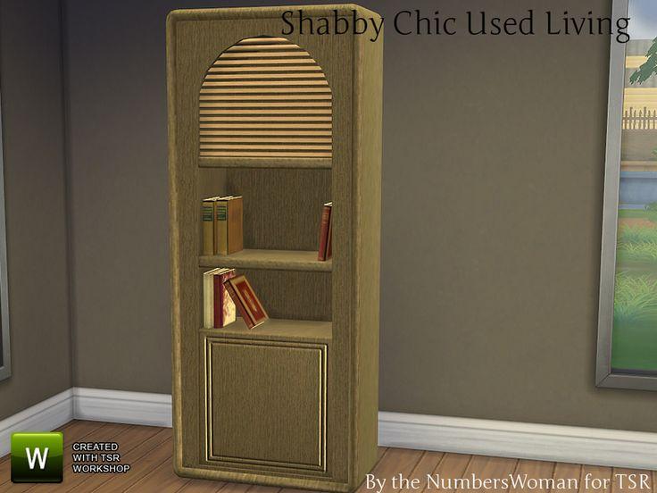 TheNumbersWoman's Shabby Bargain Shabby Chic Bookcase