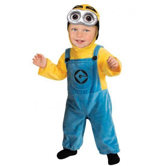 Minion Dave kostuum voor babies. Carnavalskleding 2016 #carnaval