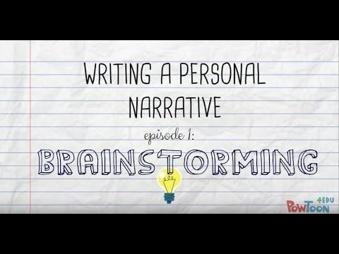 Personal narrative essays online