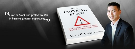 """""""The Critical Flaw"""" is about educating on how to profit and protect wealth in history's greatest opportunity. You will find historical evidence and realistic approach about why and how to take advantage of this enormous opportunity using precious metals.  This book will equip you with all you need to become a successful investor and if invested properly, potentially increasing your net worth exponentially. Enjoy! www.thecriticalflaw.com"""