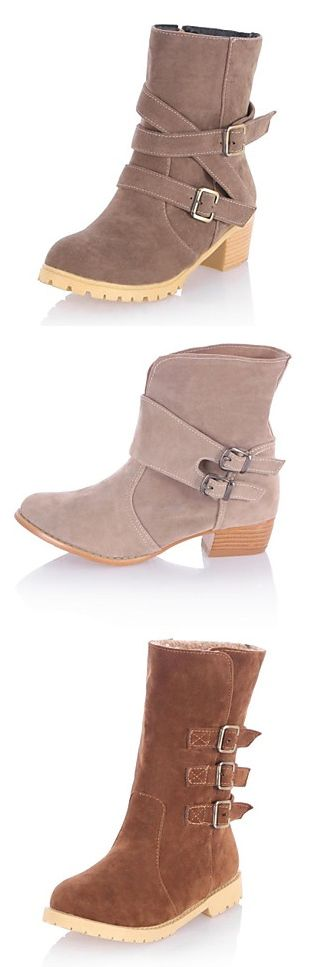Cute Boots in Browns and Tans