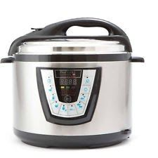 Harvest Cookware Electric Original Pressure Pro 10-Quart Pressure Cooker Black
