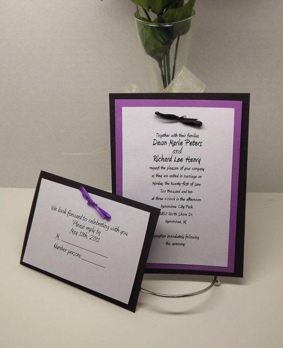 DIY Wedding Invitation Kits with Invitations by CreativeDawnOnline, $95.00
