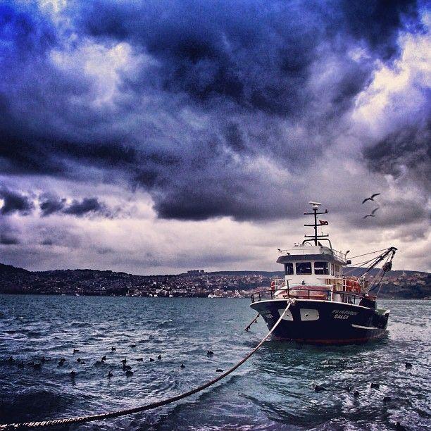 #yeniköy #istanbul #stormy
