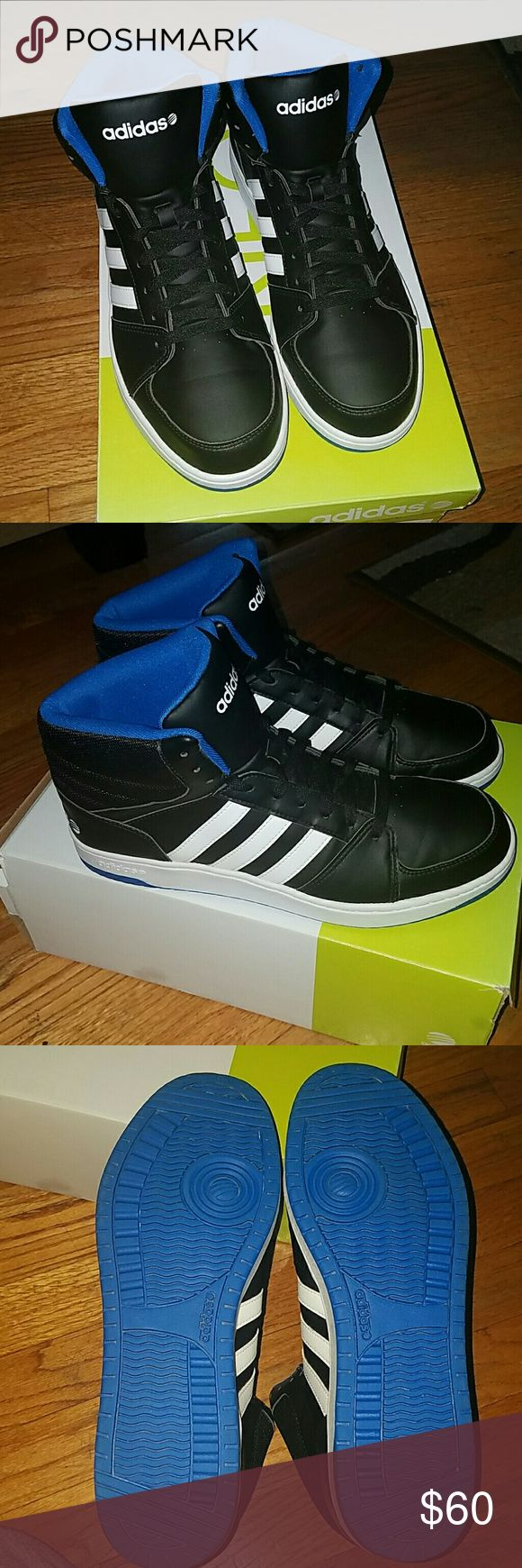 Men's New Adidas New Adidas Neo men's shoes. Just tried on didn't fit. High Top. No box. Adidas Shoes Sneakers
