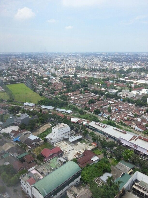 View from 29 floor -  Medan City