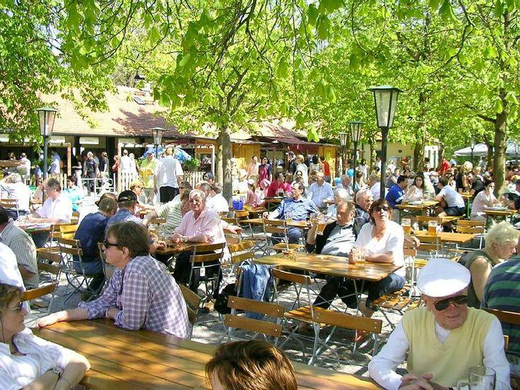 Good Aumeister Biergarten Munich Englischer Garten