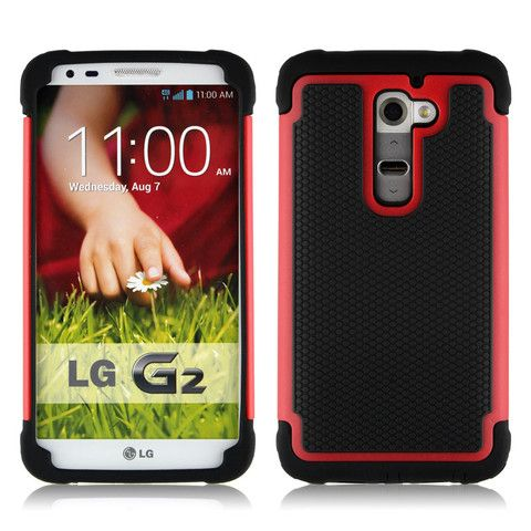 Bracevor triple defender back case will go above and beyond its line of duty to protect your Lg G2 from all angles. Raised edges further add to surface protection. Check out more now at goo.gl/I253Ou
