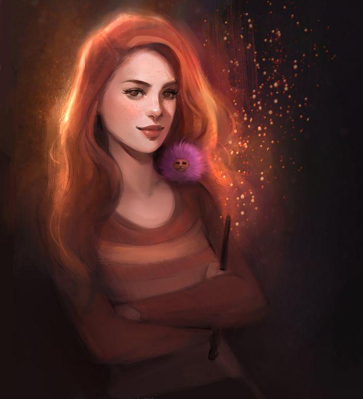 Ginny Weasley by gabbyd70 on DeviantArt