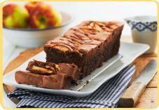 Recept voor Appel-chocoladecake