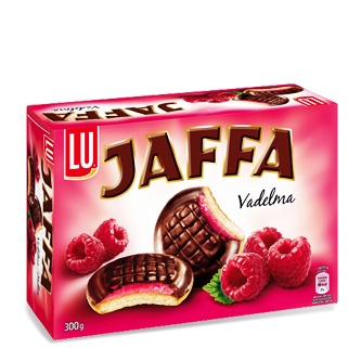 vadelma Jaffa-keksit